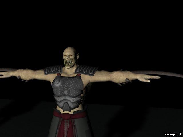 Mortal Kombat 9: Scorpion 3D Model - YouTube