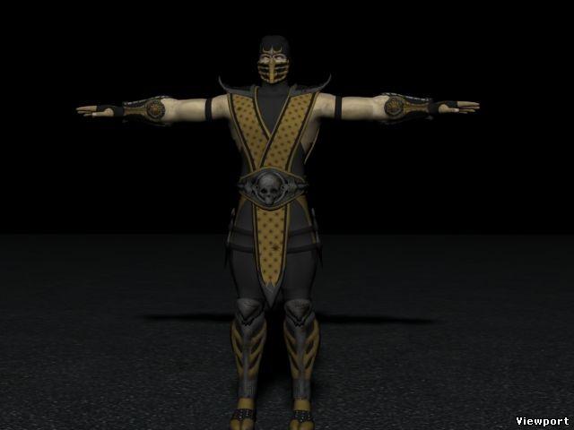 Jacqui Briggs from Mortal Kombat 11 Free 3D Model
