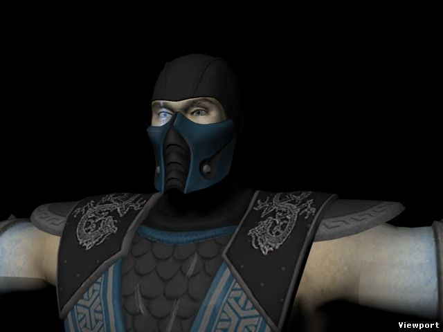 Mortal kombat 3d models